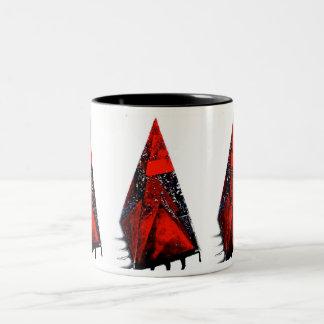 PYRAMID PYRAMID Two-Tone COFFEE MUG