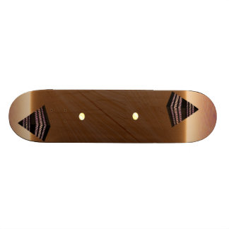 Pyramid Reflection Skateboard Design