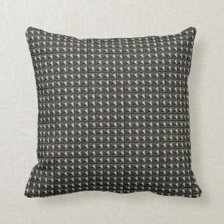 Pyramid rivets look cushion pillows