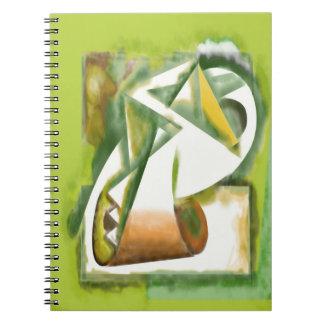 Pyramid Scroll Note Book