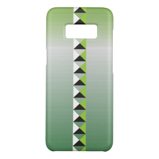 Pyramid spikes and faux brushed stainless steel Case-Mate samsung galaxy s8 case