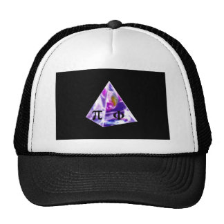 Pyramid symbol Pi and the Golden Ration Trucker Hat