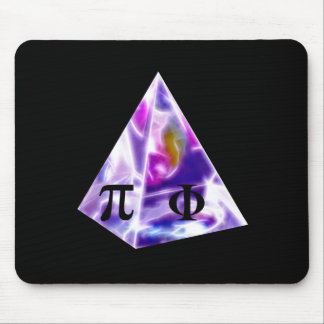 Pyramid symbol Pi and the Golden Ration Mouse Pad