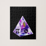 Pyramid symbol Pi and the Golden Ration Jigsaw Puzzle