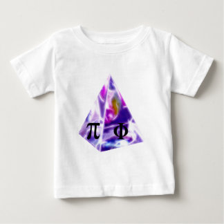 Pyramid the symbol Pi and the Golden Ratio Baby T-Shirt