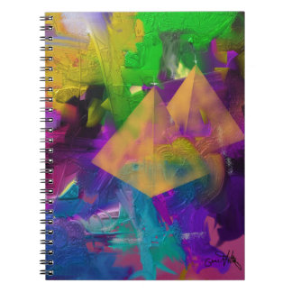 Pyramid Times Spiral Note Book
