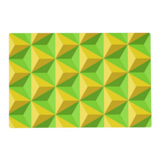PYRAMID TRIANGLE PATTERN PLACEMAT