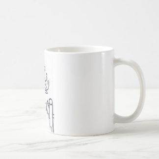 Pyramidal Pattern Production Coffee Mug