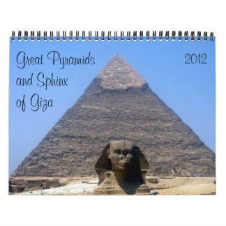 pyramids 2012 calendar