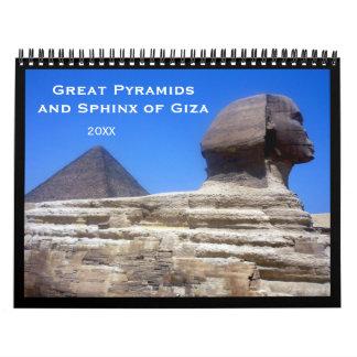 pyramids 2018 calendar