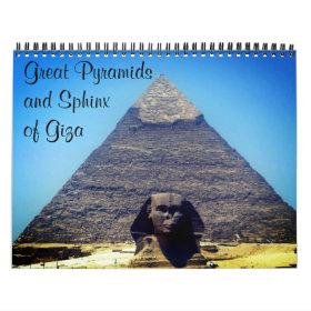pyramids 2021 calendar