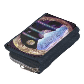 Pyramids and Planet Earth Artwork Wallet