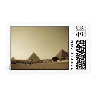 Pyramids at Giza in Cairo, Egypt Postage