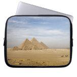 Pyramids Cairo, Egypt Computer Sleeve