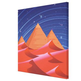 Pyramids Canvas Print