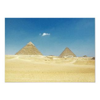 Pyramids Card