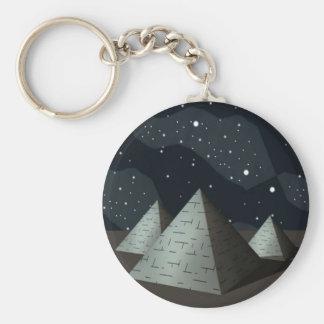 Pyramids-Egypt Keychain