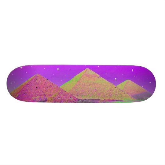 Pyramids Giza Plateau Skateboard
