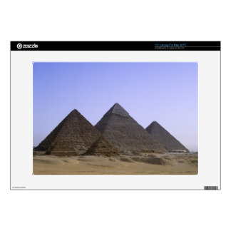 Pyramids in desert Cairo, Egypt Decal For Laptop