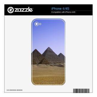 Pyramids in desert Cairo, Egypt Decal For The iPhone 4S