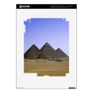 Pyramids in desert Cairo, Egypt Skins For iPad 3