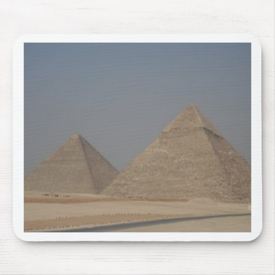pyramids of Egypt Mouse Pad