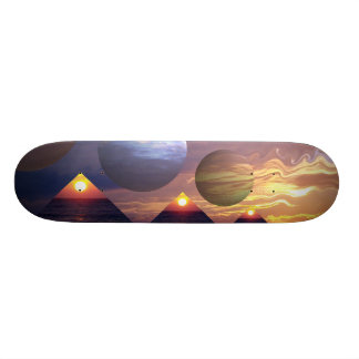 Pyramids of Enlightenment Skateboard Deck