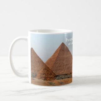 Pyramids of Giza Historical Mug