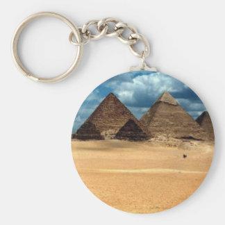 Pyramids of Gizeh Keychain