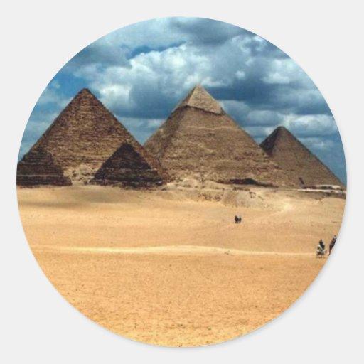Pyramids of Gizeh Sticker