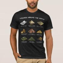 Pyramids Of The World Archeology Civilizations T-Shirt