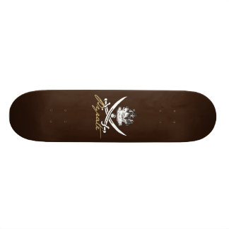 Pyrate Insignia with Ship Skateboard Deck