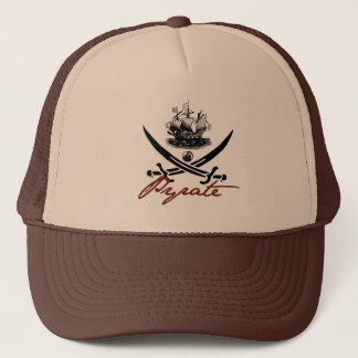 Pyrate Insignia with Ship Trucker Hat