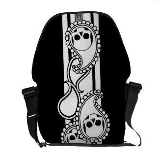 Pyre (Black) Messenger Bag