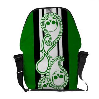Pyre (Green) Messenger Bag