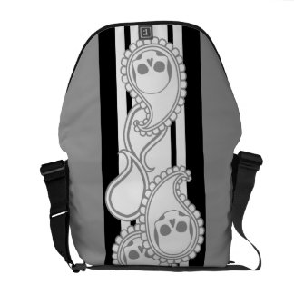 Pyre (Grey) Messenger Bag
