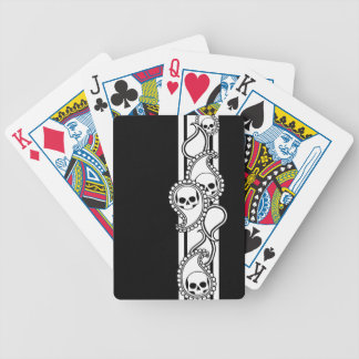 Pyre Ivory (Black) Playing Cards