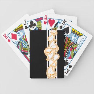 Pyre Ivory (Orange) Playing Cards