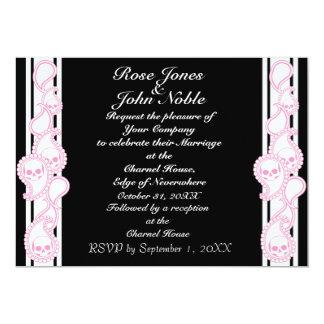 Pyre (Pink) Wedding Invitation