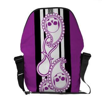 Pyre (Purple) Messenger Bag