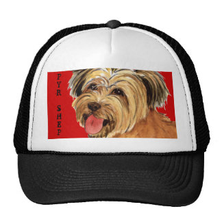 Pyrenean Shepherd Color Block Trucker Hat