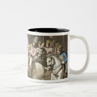 Pyrenees, 28th July 1813, from 'The Victories of t Two-Tone Coffee Mug