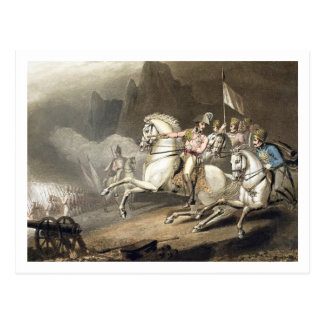 Pyrenees, 28th July 1813, from 'The Victories of t Postcard