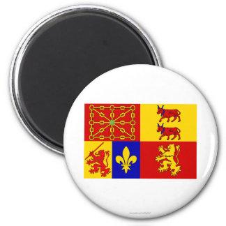 Pyrénées-Atlantiques flag Magnet