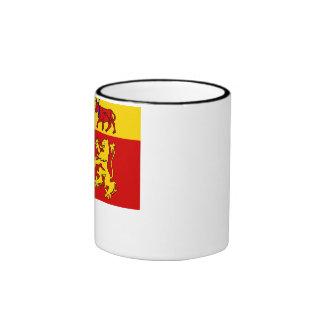 Pyrénées-Atlantiques flag Ringer Mug