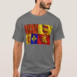 Pyrénées-Atlantiques waving flag T-Shirt