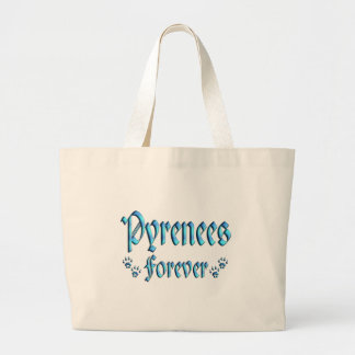 Pyrenees Forever Large Tote Bag