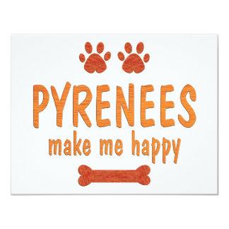 Pyrenees Make Me Happy Card