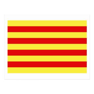 Pyrénées-Orientales flag Postcard