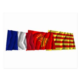 Pyrénées-Orientales, Languedoc-Roussillon & France Postcard